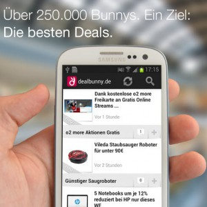 dealbunny.de findet alle Deals